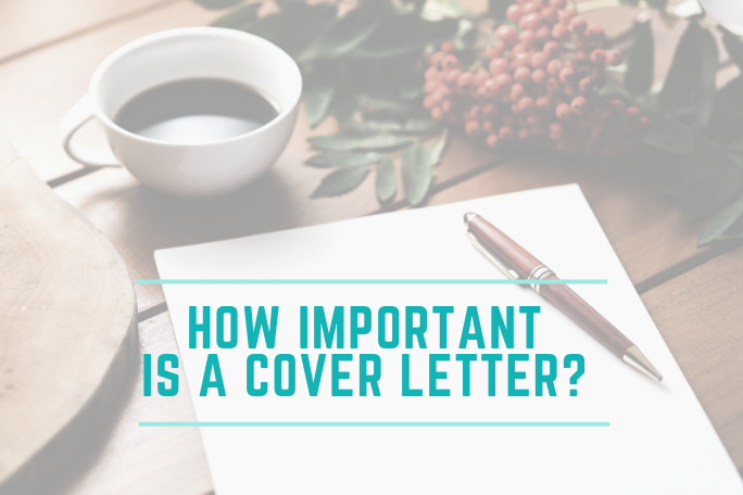 How Important Is A Cover Letter Christy Noel