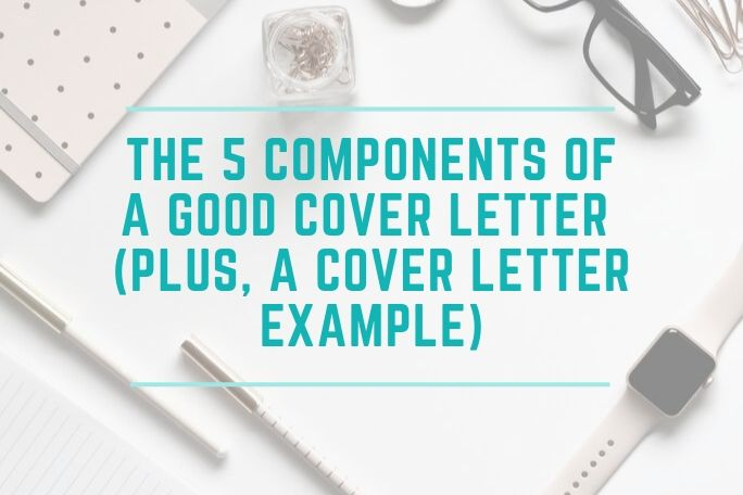 Components Of Cover Letter from christynoel.com